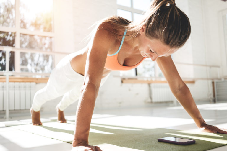 Los mejores fitness apps 2020